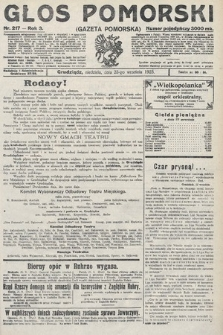 Głos Pomorski. 1923, nr217