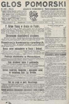 Głos Pomorski. 1923, nr223