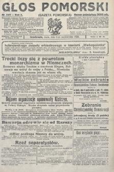 Głos Pomorski. 1923, nr225