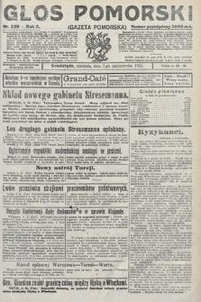 Głos Pomorski. 1923, nr229