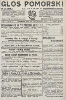 Głos Pomorski. 1923, nr231