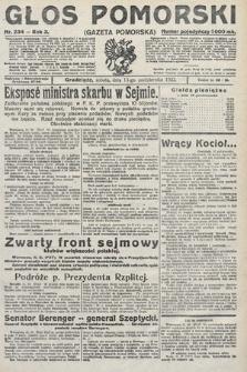 Głos Pomorski. 1923, nr234