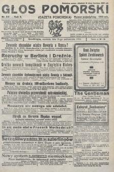 Głos Pomorski. 1923, nr241