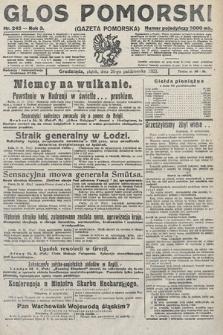 Głos Pomorski. 1923, nr245
