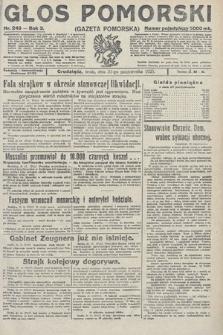 Głos Pomorski. 1923, nr249