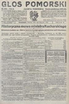 Głos Pomorski. 1923, nr250