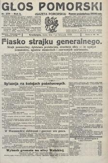 Głos Pomorski. 1923, nr254