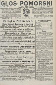 Głos Pomorski. 1923, nr262