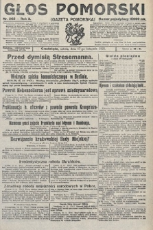 Głos Pomorski. 1923, nr263