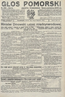 Głos Pomorski. 1923, nr269