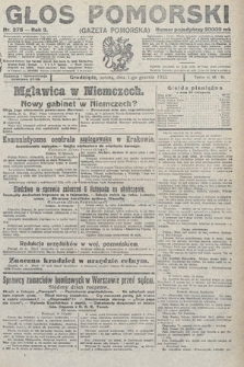 Głos Pomorski. 1923, nr275