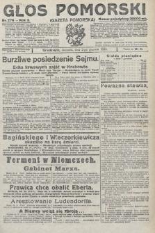 Głos Pomorski. 1923, nr276