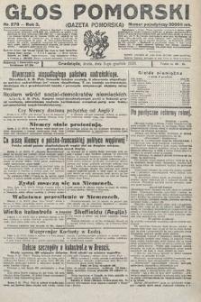 Głos Pomorski. 1923, nr278