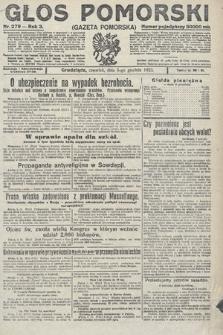 Głos Pomorski. 1923, nr279