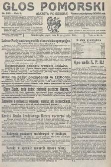 Głos Pomorski. 1923, nr285