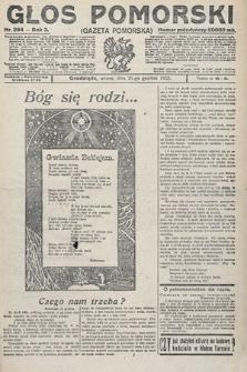 Głos Pomorski. 1923, nr294