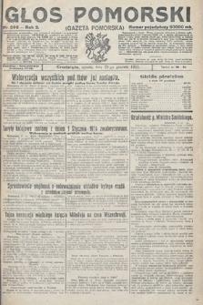 Głos Pomorski. 1923, nr296