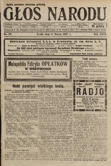 Głos Narodu. 1925, nr58