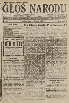 Głos Narodu. 1925, nr61