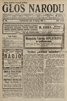 Głos Narodu. 1925, nr63