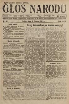 Głos Narodu. 1925, nr67