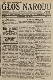 Głos Narodu. 1925, nr72
