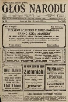 Głos Narodu. 1925, nr83