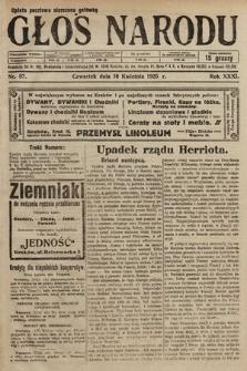 Głos Narodu. 1925, nr87