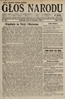 Głos Narodu. 1925, nr90