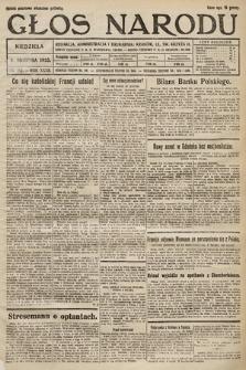 Głos Narodu. 1925, nr182