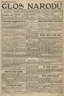 Głos Narodu. 1925, nr185
