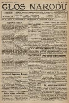 Głos Narodu. 1925, nr284