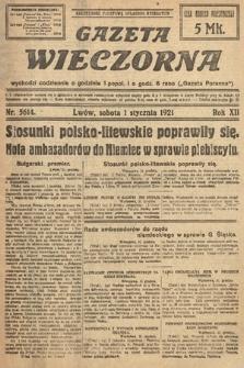 Gazeta Wieczorna. 1921, nr5614