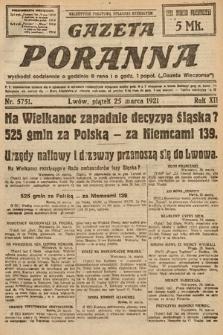 Gazeta Poranna. 1921, nr5751