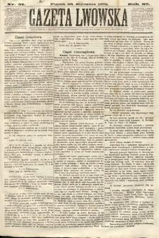 Gazeta Lwowska. 1872, nr 21