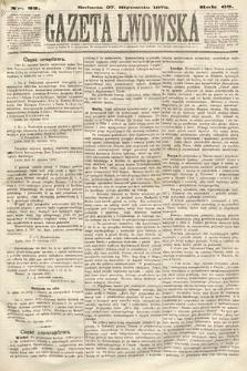 Gazeta Lwowska. 1872, nr 22