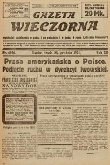 Gazeta Wieczorna. 1921, nr6196