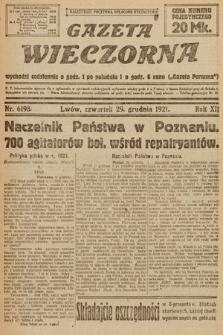 Gazeta Wieczorna. 1921, nr6198