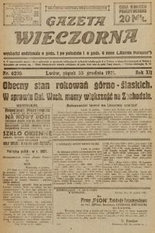 Gazeta Wieczorna. 1921, nr6200