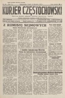 Kurjer Częstochowski : niezależny dziennik polityczny, społeczny, gospodarczy iliteracki. 1933, nr10