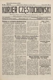 Kurjer Częstochowski : niezależny dziennik polityczny, społeczny, gospodarczy iliteracki. 1933, nr48