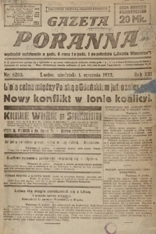 Gazeta Poranna. 1922, nr6203