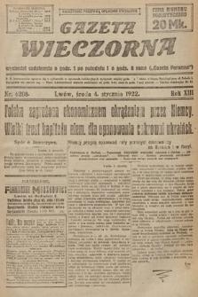 Gazeta Wieczorna. 1922, nr6208