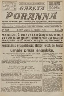 Gazeta Poranna. 1922, nr6221