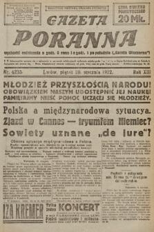 Gazeta Poranna. 1922, nr6233