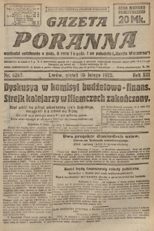 Gazeta Poranna. 1922, nr6267
