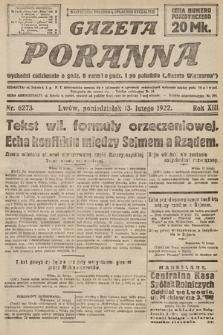 Gazeta Poranna. 1922, nr6273