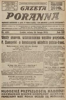 Gazeta Poranna. 1922, nr6281