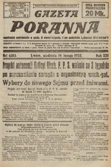 Gazeta Poranna. 1922, nr6283