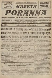 Gazeta Poranna. 1922, nr6291